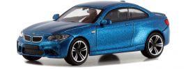 MINICHAMPS 870027000 BMW M2 Coupe F87  2016 metallic-blau Automodell  1:87 online kaufen