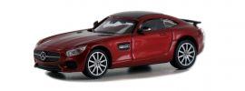 MINICHAMPS 870037121 Mercedes-AMG GTS 2015 weinrot-metallic Automodell Spur H0 online kaufen