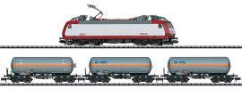 MINITRIX 11144 Digital Startpackung Serie 4000 mit Güterzug CFL | DCC | Spur N online kaufen