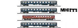 MINITRIX 15132 Personenwagen-Set 4-tlg. Merkur DB | MHI | Spur N online kaufen