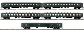 MINITRIX 15219 Schnellzugwagen-Set D 360 DB | Spur N online kaufen