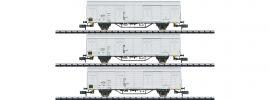 MINITRIX 15316 Güterwagen-Set 3-tlg. Ibblps DR   Spur N online kaufen