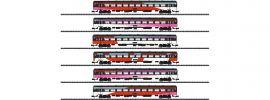 MINITRIX 15389 Schnellzugwagen-Set 6-tlg. ICRm NS | Spur N online kaufen