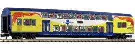 MINITRIX 15396 Doppelstockwagen 2. Klasse DBdpza metronom | Spur N online kaufen