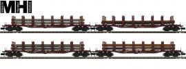 MINITRIX 15484 Güterwagen-Set 4-tlg. Stahltransport DB | MHI | Spur N online kaufen