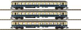 MINITRIX 15639 Personenwagen-Set 3-tlg. D 796 DB | Spur N online kaufen