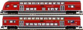 MINITRIX 15776 Doppelstockwagen-Set 2-tlg. Hanse-Express DB AG | Spur N online kaufen