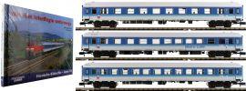 MINITRIX 15948 Personenwagen-Set 3-tlg. 30 Jahre Interregio DB | Spur N online kaufen