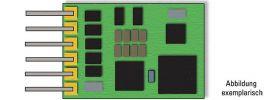 MINITRIX 66841 Lokdecoder für 6-polige NEM-Schnittstelle | Spur N online kaufen