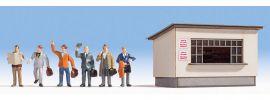 NOCH 12020 Auf dem Bahnsteig DekoSzene Fertigmodell 1:87 online kaufen