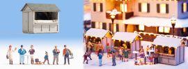 NOCH 12026 Auf dem Weihnachstmarkt Fertigmodell Spur H0 online kaufen