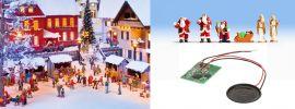 NOCH 12897 Sound-Szene Weihnachten mit Figuren und Lautsprecher 1:87 online kaufen