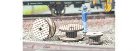 NOCH 14202 Kabelrollen-Set | 3 Stück | Laser-Cut minis Bausatz Spur H0 online kaufen