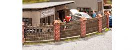NOCH 14235 Zaun mit gemauerten Säulen | Laser-Cut Bausatz H0 online kaufen