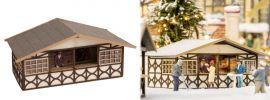 NOCH 14392 Weihnachtsmarktstand  LaserCut Bausatz Echtholz 1:87 online kaufen