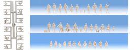 NOCH 14985 Unbemalte Figuren 72 Stück 1:87 online kaufen