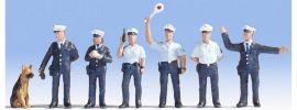 NOCH 15091 Polizisten blaue Uniform   6 Miniaturfiguren Spur H0 online kaufen