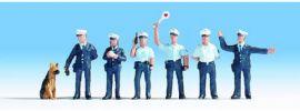 NOCH 15091 Polizisten blaue Uniform, Figuren Spur H0 online kaufen