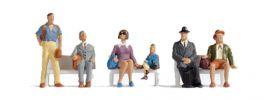 NOCH 15240 Fahrgäste | 6 Miniaturfiguren | Spur H0 online kaufen
