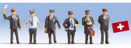 NOCH 15266 Schweizer Bahnpersonal Miniaturfiguren Spur H0 online kaufen