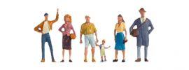NOCH 15478 Passanten | 6 Miniaturfiguren | Spur H0 online kaufen