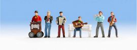 NOCH 15563 Straßenmusiker | 6 Miniaturfiguren Spur H0 online kaufen