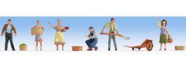 NOCH 15617 Bauern | 6 Stück | Figuren Spur H0 online kaufen