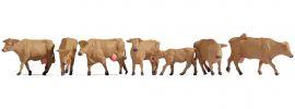 NOCH 15727 Braune Kühe | Figuren Spur H0 online kaufen