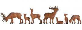 NOCH 15732 Hirsche | 7 Stück | Figuren Spur H0 online kaufen