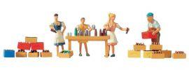 NOCH 15834 Getränkeausschank Figuren mit Zubehör | Spur H0 online kaufen