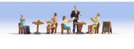 NOCH 15838 Restaurant Miniaturfiguren mit Zubehör Spur H0 online kaufen