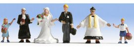 NOCH 15860 Hochzeit | 6 Miniaturfiguren | Spur H0 online kaufen