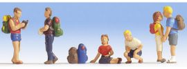 NOCH 15873 Wanderer | 6 Miniaturfiguren | Spur H0 online kaufen