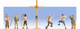 NOCH 15874 Bergwanderer mit Gipfelkreuz Spur H0 online kaufen