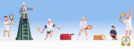 NOCH 15880 Tennisspieler mit Zubehör 6 Figuren Spur H0 online kaufen