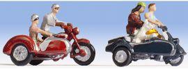 NOCH 15905 Motorradfahrer Figuren mit Zubehör Spur H0 online kaufen