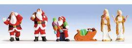 NOCH 15920 Weihnachtsfiguren, Figuren mit Zubehör  Spur H0 online kaufen