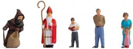 NOCH 15923 Nikolausabend | 5 Stück | Figuren Spur H0 online kaufen