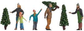 NOCH 15927 Christbaumverkauf | 5 Stück | Figuren Spur H0 online kaufen