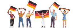 NOCH 15966 Deutsche Fans | Figuren Spur H0 online kaufen