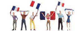 NOCH 15974 Französische Fans | Figuren Spur H0 online kaufen