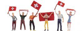 NOCH 15986 Schweizer Fans   Figuren Spur H0 online kaufen