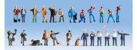 NOCH 16109 Figuren-XL-Set Bei der Arbeit 24 Stück Spur H0 online kaufen