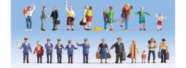NOCH 16121 Figuren-XL Set Auf dem Bahnhof 24 Stück Spur H0 online kaufen