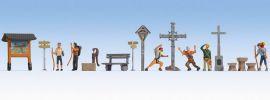 NOCH 16210 Themenwelt In den Bergen | Figuren Spur H0 online kaufen