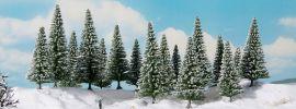 NOCH 24681 Schneetannen | 10 -14 cm | 16 Stück | Spur H0 + TT online kaufen