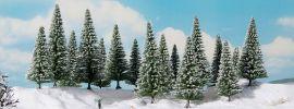 NOCH 24682 Schneetannen | 14 cm bis 18 cm | 6 Stück | Spur 0 + H0 + TT online kaufen