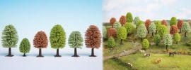 NOCH 26906 Frühlingsbäume | Höhe 5 cm bis 9 cm | 10 Stück | Spur H0 online kaufen