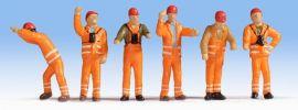 NOCH 36275 Rangierpersonal | 6 Miniaturfiguren | Spur N online kaufen