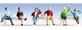 NOCH 36540 Sitzende Miniaturfiguren | Spur N online kaufen